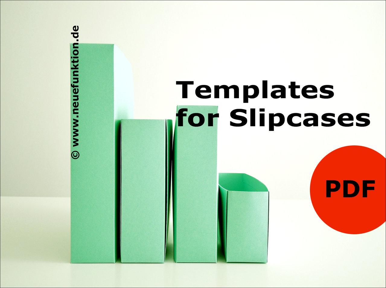 Pdf Templates | Templates For Slipcases Neuefunktion De