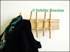 Application Example 1-Coat Rack-Design and Foto Sybille Kesslau
